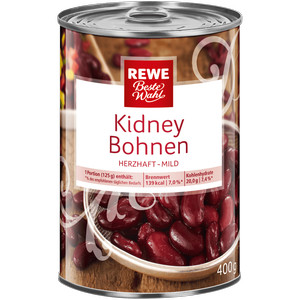 Kidneybohnen, Dezember 2016