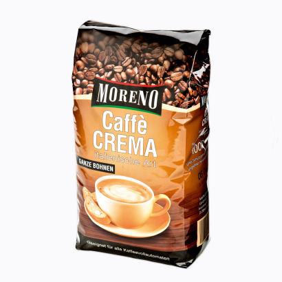 Caffè Crema, ganze Bohnen, Dezember 2012