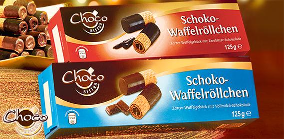 Schoko-Waffelröllchen, November 2012