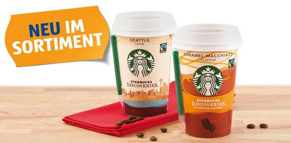 Discoveries Kaffeegetränk, Oktober 2012