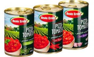 Tomaten, gehackt und gewürzt, November 2016