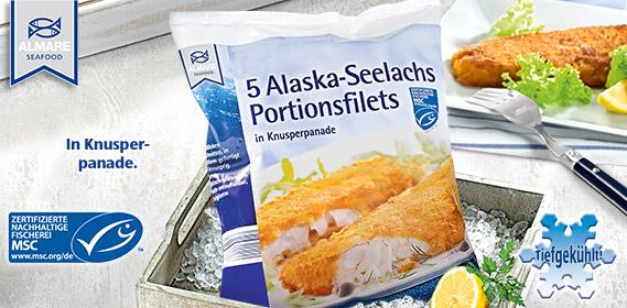5 Alaska-Seelachs Portionsfilets, M�rz 2012
