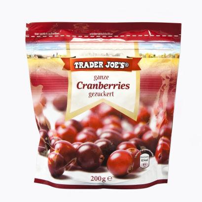 Ganze Cranberries, Oktober 2012