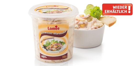 Schweizer Wurstsalat mit Mayonnaise, November 2013