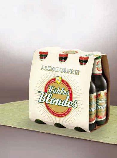 Kühles Blondes alkoholfrei, 6x0,33l, Oktober 2012