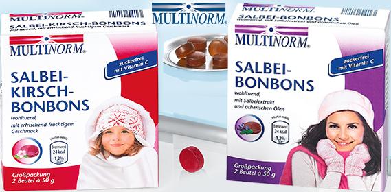 Salbei-Kirsch- oder Salbei-Bonbons, 2x 50 g, Dezember 2012