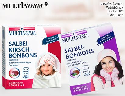 Salbei-Kirsch- oder Salbei-Bonbons, 2x 50 g, Dezember 2013