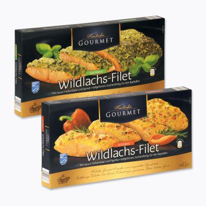 Wildlachs-Filet, Oktober 2012