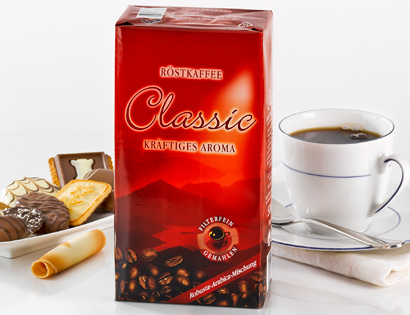Classic Röstkaffee - kräftiges Aroma, M�rz 2014