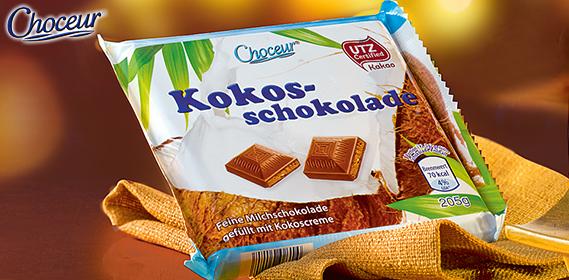 Kokosschokolade, November 2012