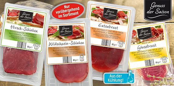 Wild- und Geflügelspezialität, November 2012