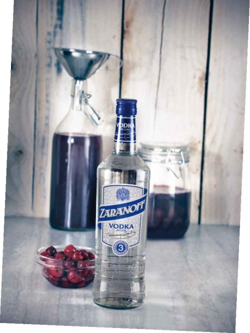 Vodka Zaranoff 37,5 %-Vol. , November 2012