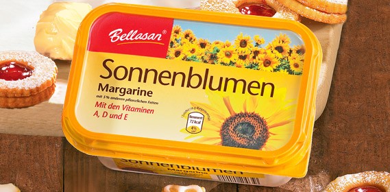 Sonnenblumen-Margarine, Oktober 2011