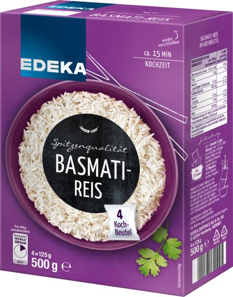 Basmati-Reis, Januar 2018