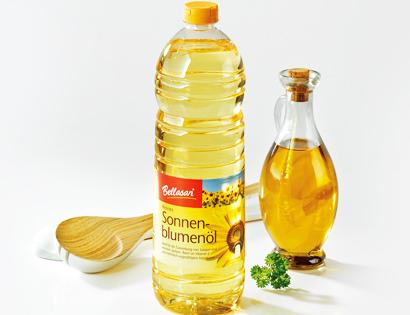 BELLASAN Reines Sonnenblumenöl von Aldi Süd
