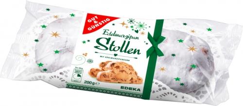 Edel-Marzipan Stollen, Januar 2018
