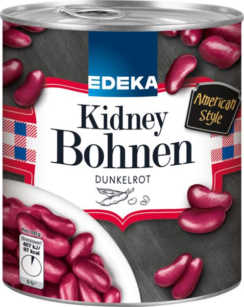 Rote Kidney Bohnen dunkelrot, Januar 2018