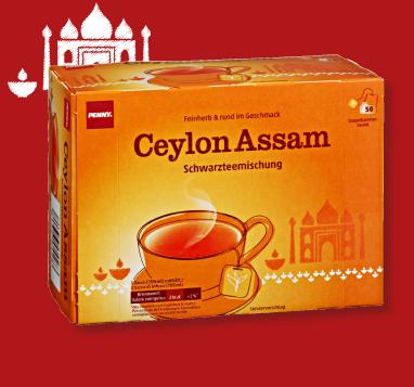 Ceylon Assam Tee, November 2012