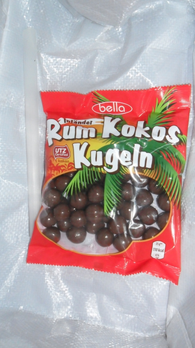 Rum Kokos Kugeln, November 2012