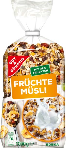 Früchte-Müsli, Dezember 2017