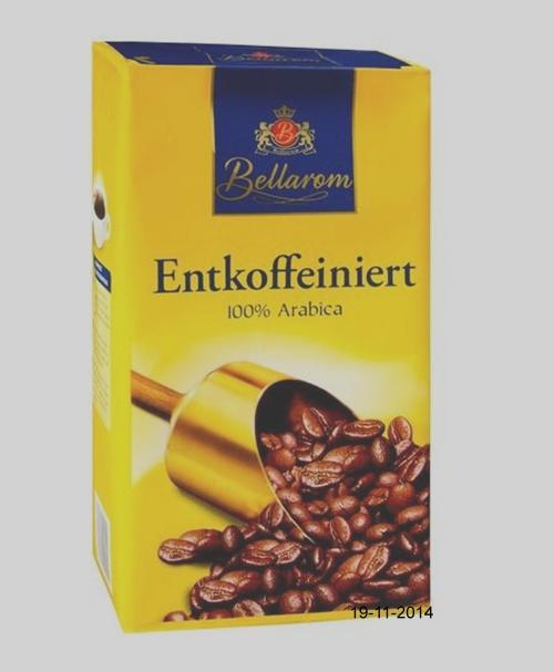 Kaffee, Entcoffeiniert, November 2014