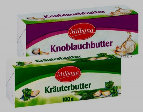 Kräuter-/Knoblauchbutter, Dezember 2014