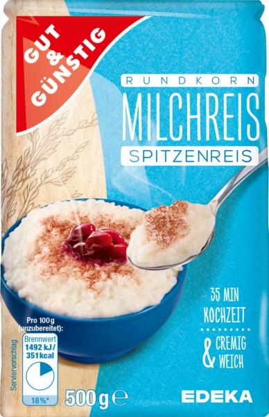 Milchreis, Januar 2018
