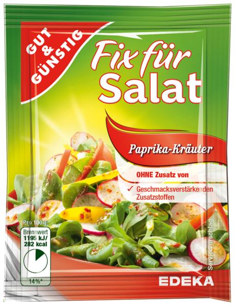 Salatfix, Paprika-Kräuter, Januar 2018