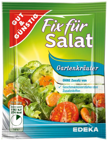 Salatfix, Gartenkräuter, Januar 2018