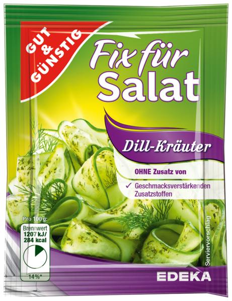 Salatfix, Dill-Käuter, Januar 2018