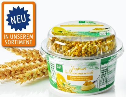 Joghurt & Knuspermüsli, Juli 2013