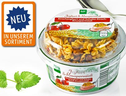 Joghurt & Knuspermüsli, Oktober 2013