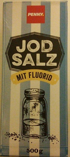Jodsalz mit Fluorid, M�rz 2018