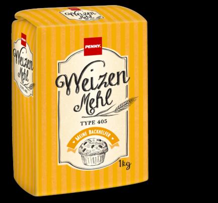 Weizenmehl Type 405, Juni 2018