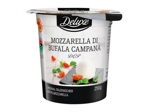 Mozzarella di Bufala Campana DOP – Original italienischer Büffel-Mozzarella, November 2017