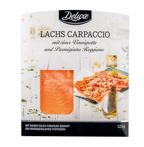 Lachs Carpaccio, November 2017