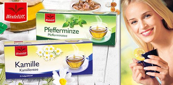 Kamillen- oder Pfefferminztee, M�rz 2011