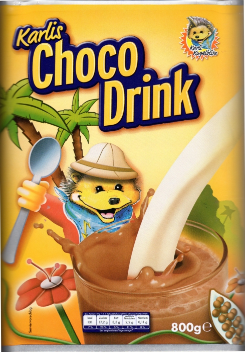 Choco Drink, November 2012