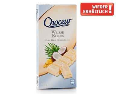 Weiße Schokolade, Juli 2014