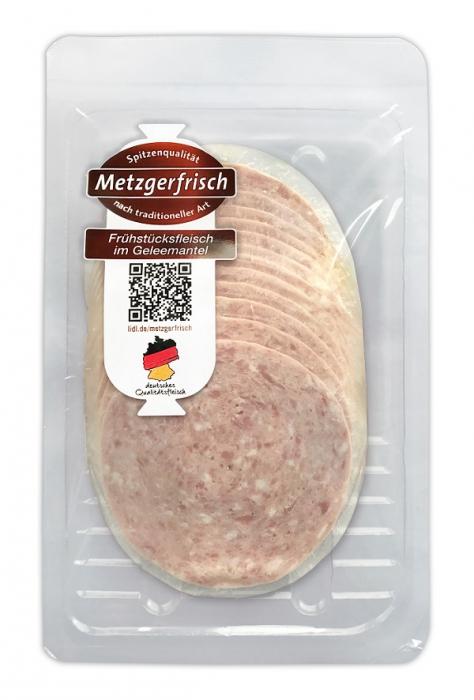 Frühstücksfleisch im Geleemantel, Juli 2017