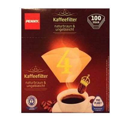 Kaffeefilter, Größe 4, Juni 2017