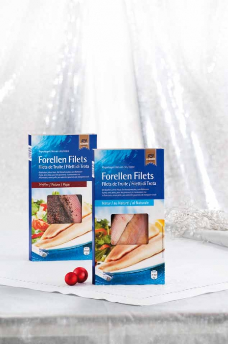 Forellen-Filets, geräuchert, Dezember 2012