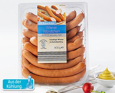 Wiener Würstchen, 25 Stück, Januar 2015