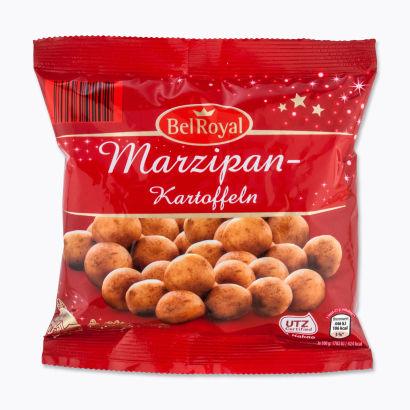 Marzipan-Kartoffeln, September 2014