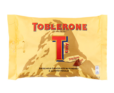 Toblerone Mini-Riegel, M�rz 2017