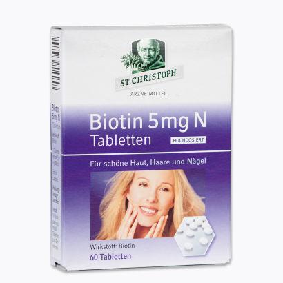 Biotin 5 mg N Tabletten, Dezember 2012
