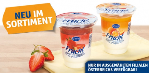 Frucht auf Joghurt, Januar 2013