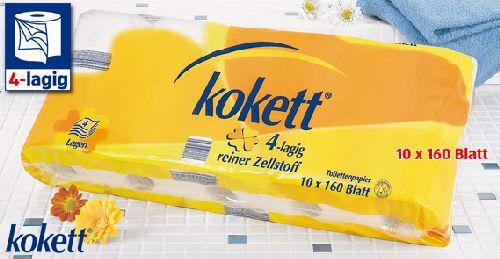 Toilettenpapier, 4-lagig, Oktober 2007