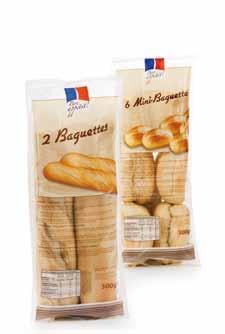 Baguettes/Mini-Baguettes, Dezember 2012