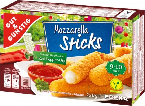 Mozzarella Sticks, Dezember 2017